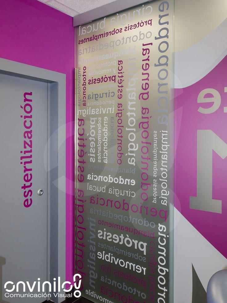 Trabajos de rotulación y decoración realizados para Clínica Dental Miriam Martínez, de reciente apertura en Calahorra. Nos hemos encargado ...