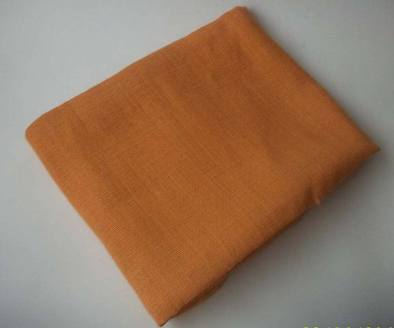 Orange Burlap /Hessian Fabric Halloween Decor by HouseOfCalima, £5.00