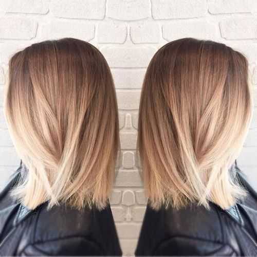 long bob cut STRAIGHT BOB + BLONDE BALAYAGE (scheduled via http://www.tailwindapp.com?utm_source=pinterest&utm_medium=twpin&utm_content=post136775551&utm_campaign=scheduler_attribution)