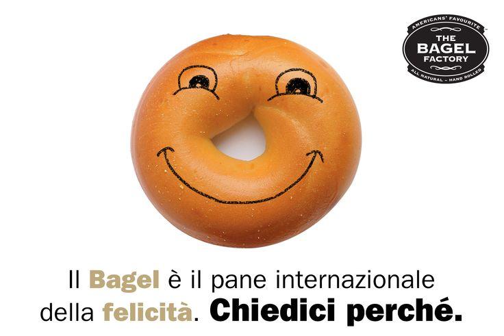 Il Bagel è il pane internazionale della felicità