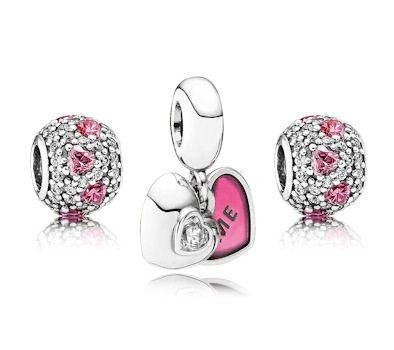 Pandora ME & YOU Forever Charm Set....my newest additions for Valentine's day and anniversary!