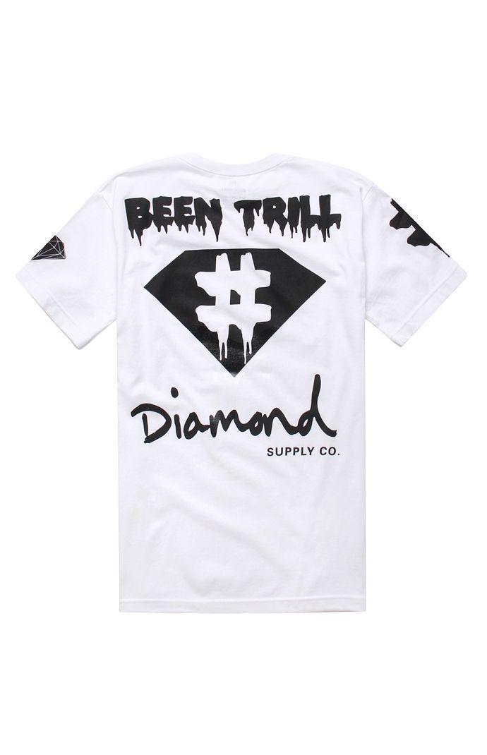 Been Trill x Diamond Supply Co. Hashtag 2 Tee #pacsun