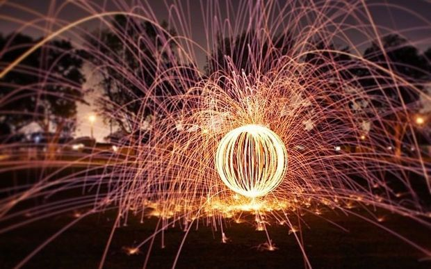 Picture of HOW TO: ORB STEEL WOOL PHOTOGRAPHY