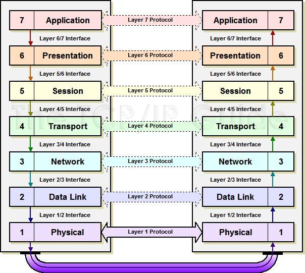 The TCP/IP Guide - Protocols Horizontal (Corresponding Layer