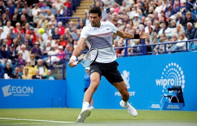 Djokovic entró en la final de Eastbourne tras vencer al ruso Daniil #Deportes #Tenis