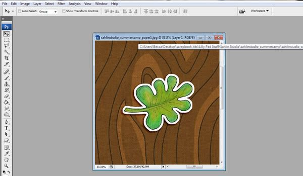 Tutorial: How-To Create a STICKER | Sahlin Studio | Digital Scrapbooking Designs