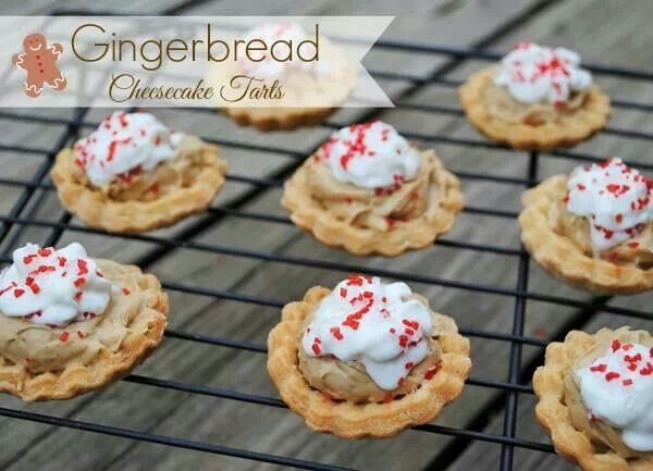 Ginger bread tarts | Recipes to try | Pinterest