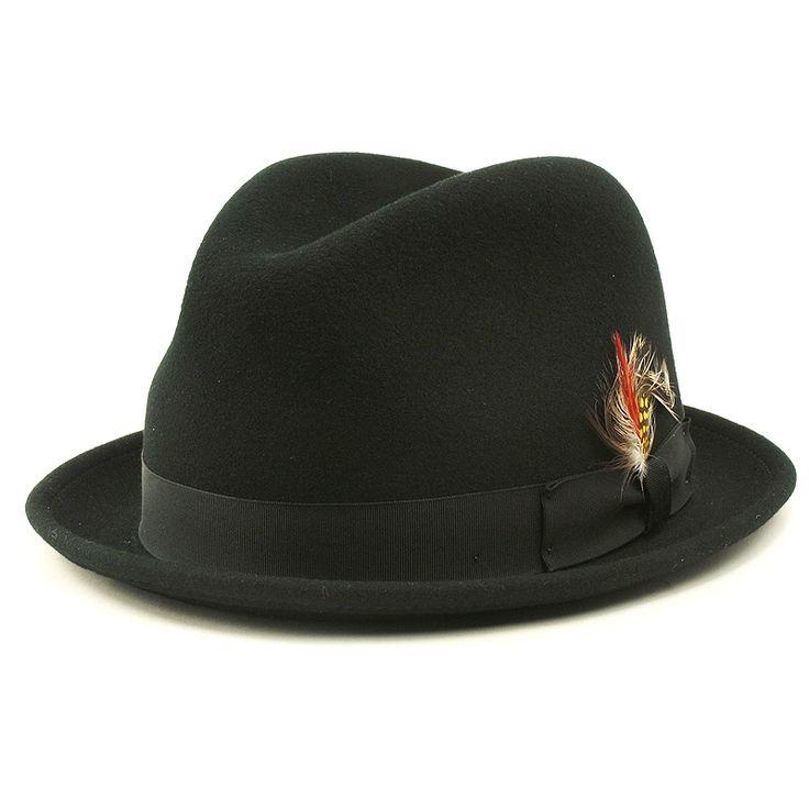 NEWYORK HAT ニューヨークハット [Lite Felt Stingy]  ブラック
