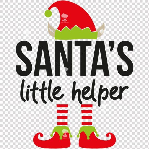 Santa S Little Helper Shirt Svg Dxfeps Elf Baby Svg Etsy Santa S Little Helper Elf Shirt Elf Hat With Ears