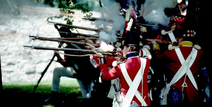 Old Fort Erie, Canada--several battles fought here as part of the War of 1812