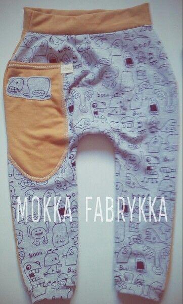 Scary baggy pants by Mokka Fabrykka - find it on fb