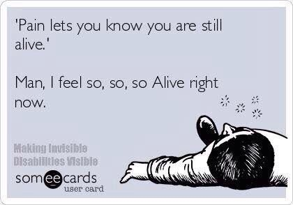 """""""Pain lets you know you are still alive. Man, I feel so, so, so alive right now."""" #Fitness #Humour #Meme"""