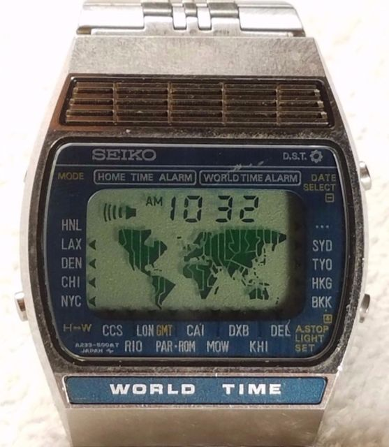 seiko world time watch manual