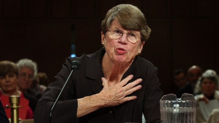 """Janet Reno, the first woman to serve as U.S. attorney general and the epicenter of several political storms during the Clinton administration, including the seizure of Elian Gonzalez, died early Monday. She was 78. Reno died from complications of Parkinson's disease. A former Miami prosecutor who famously told reporters """"I don't do spin,"""" Reno served nearly eight years as attorney general under President Bill Clinton, the longest stint in a century."""