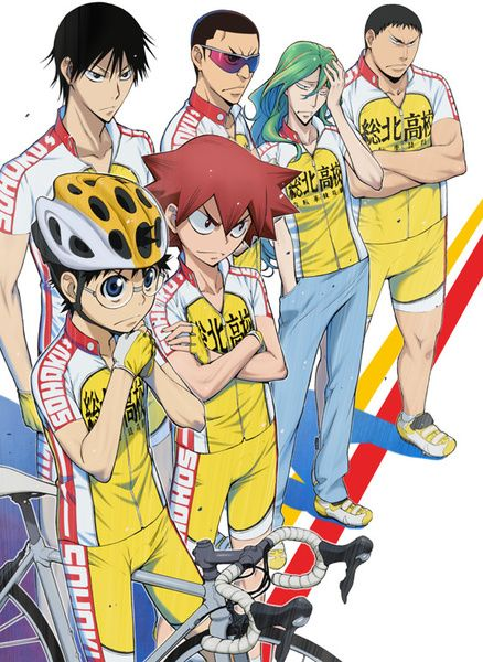 Yowamushi Pedal (Grande Road - Second season) - The anime is pretty good, to be honest I didn't expect it to hook me like that. Anyways the anime is all about bikes (road racers) and focuses on Onoda Sakamichi the main character (into anime!~) as he discovers his secret ability.