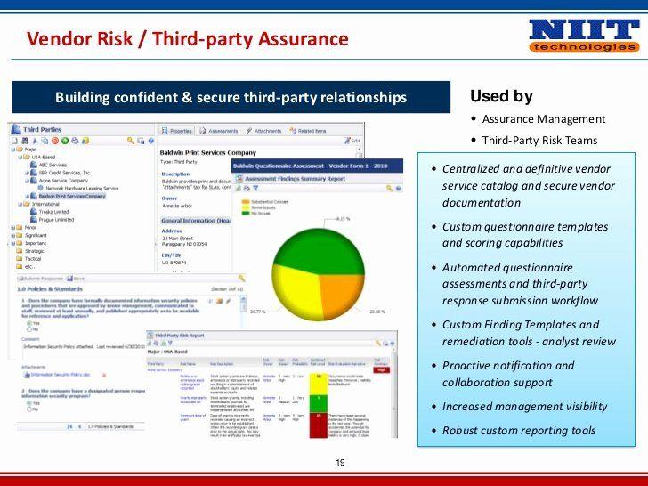 Vendor Risk Assessment Template Unique Vendor Risk Management Daily Planner Template Questionnaire Template Templates