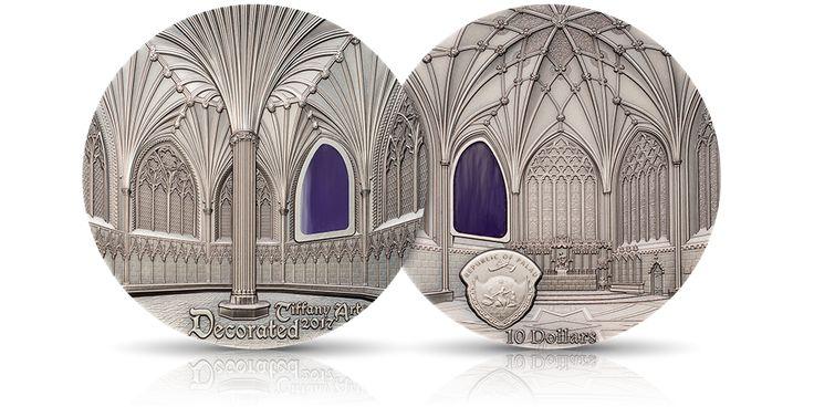 Katedra w Wells na oficjalnej srebrnej monecie