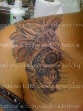 tattoo: Red Beans, Voodoux Tattoo