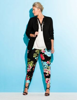 This is a great look......but would I ever wear the pants other than with the jacket.  A little too bold for me I think