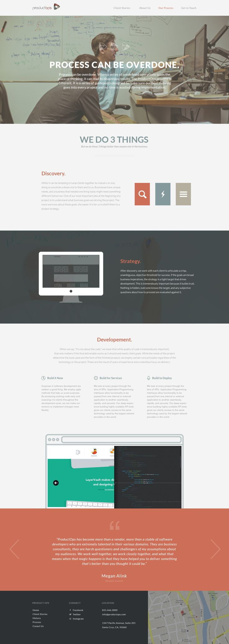 P-Ops Process Page