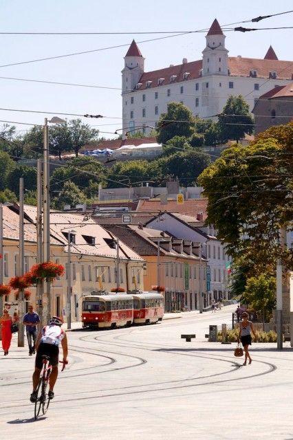 Bratislava Castle and Old Town of Bratislava, Slovakia – Live Cruise Review: Viking Embla, Grand European Tour 2013 – Bratislava, Slovakia and Vienna, Austria   Popular Cruising (Image Copyright © Jason Leppert)