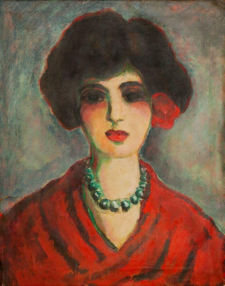 Lady in Red - a Von Dongen by De Hory