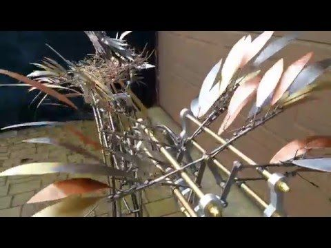 Mechanical Tree sculpture , Autumnmotion - YouTube