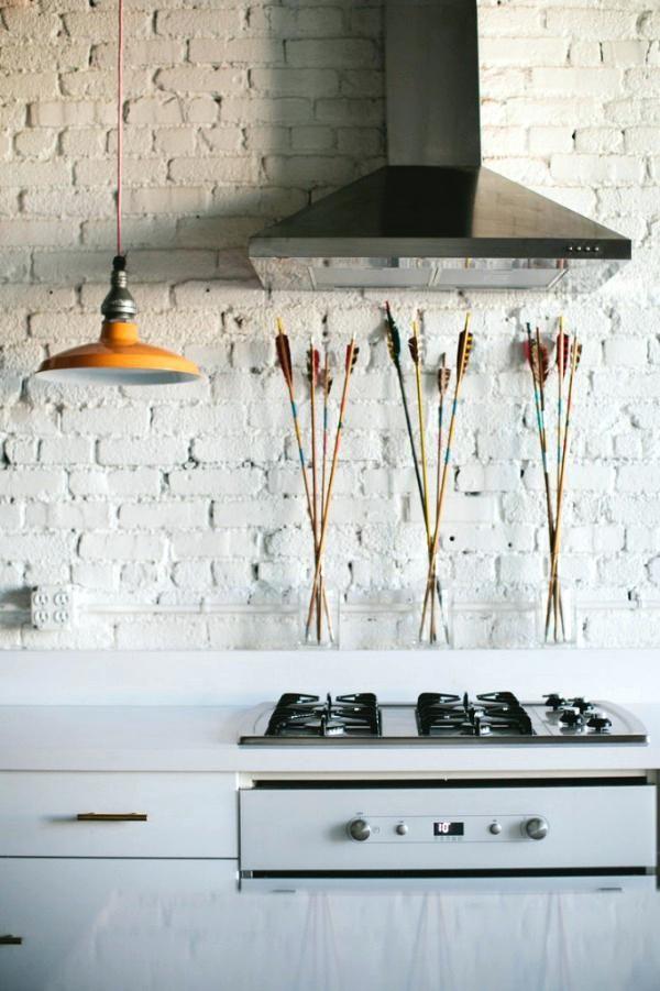 Image Result For Whitewash Brick Tile Fireplace White Brick Backsplash Brick Backsplash Brick Kitchen