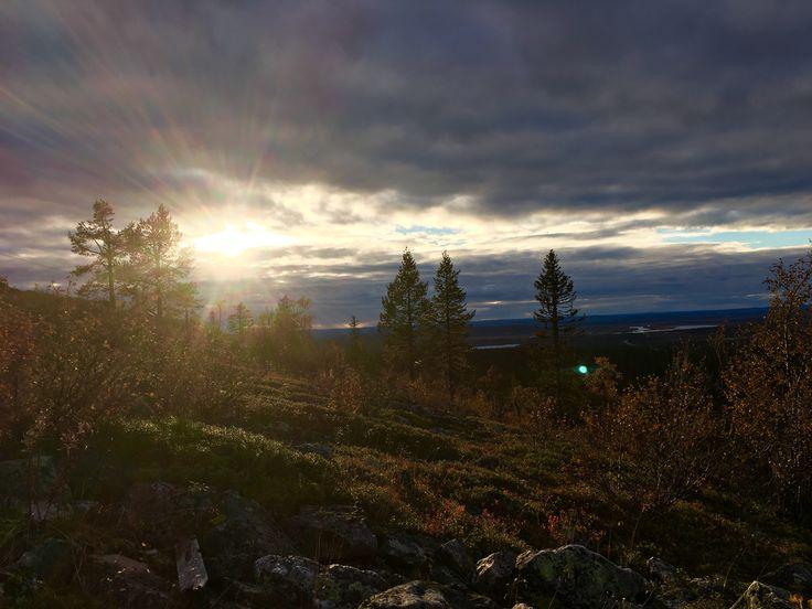 Olos, Muonio, Finland.