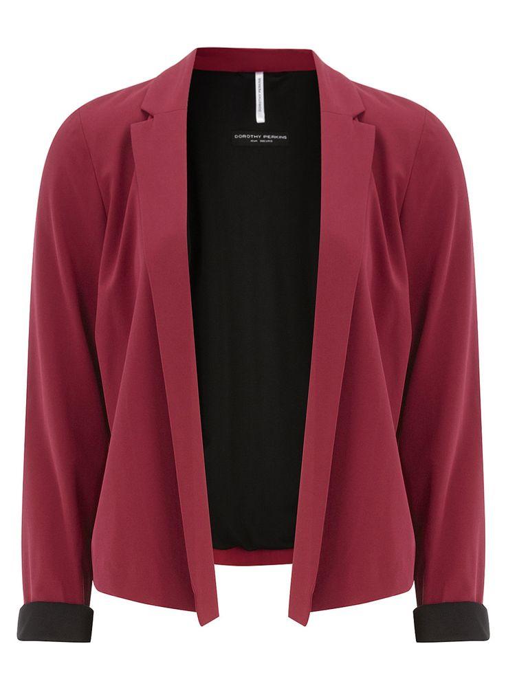 Magenta Red Kimono Jacket