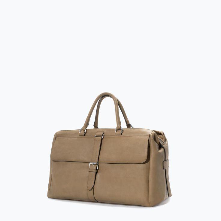 ZARA - SHOES & BAGS - RETRO STYLE TRAVEL BAG