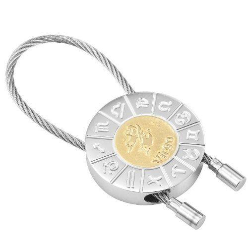 R&B Schmuck Unisex Schlüsselanhänger - Jungfrau Sternzeichen (Silber, Gold): 12,90€