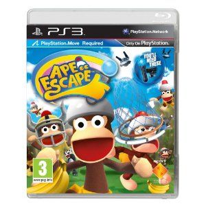Ape Escape - Move Compatible: Travel through time to battle with hundreds of cheeky chimps from outer space… #UKOnlineShopping #UKShopping
