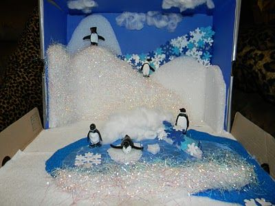Shabby Kitteh: School Project. Penguin Ecosystem