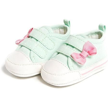 Child of Mine by Carters Newborn Baby Girl Dot Sneakers