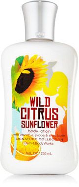 Wild Citrus Sunflower Body Lotion - Signature Collection - Bath & Body Works