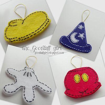 disney ornaments to make
