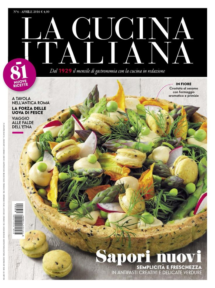 La cucina italiana 04 2016 m@r by marco Ar - issuu