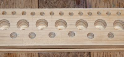 The Shed And Beyond: Homemade peg loom ... ...