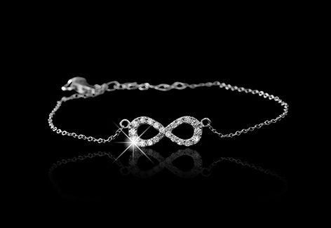 Infinity bracelet for your first love...
