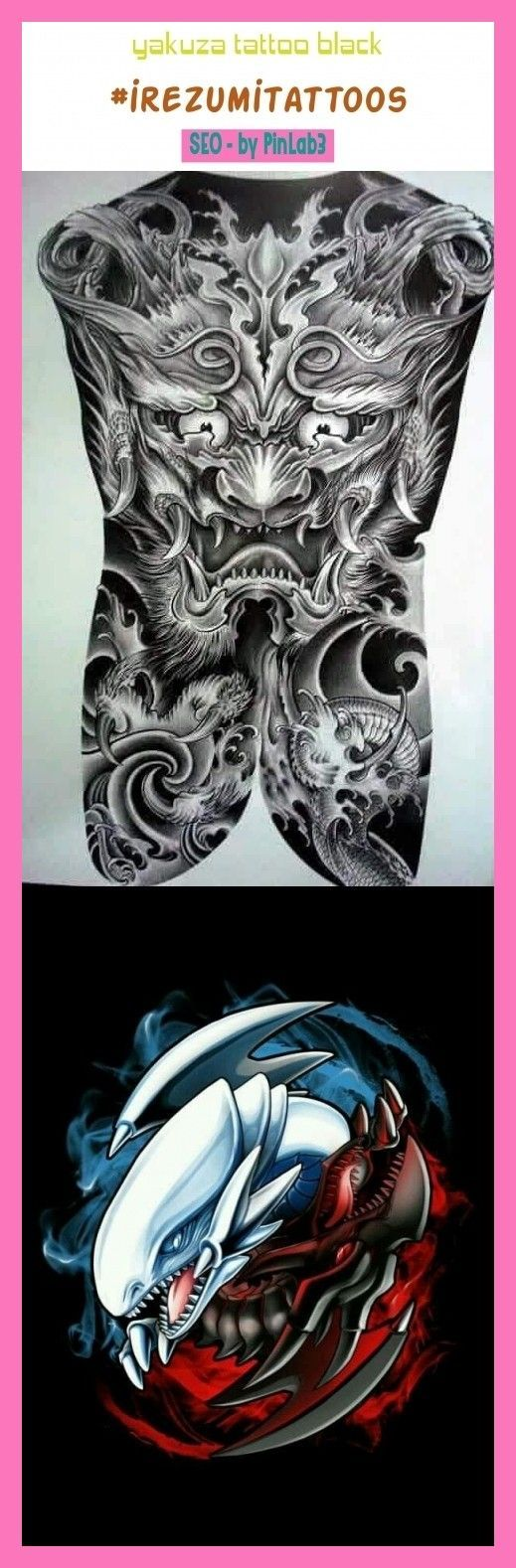 Yakuza tattoo black irezumitattoos tattoos. yakuza