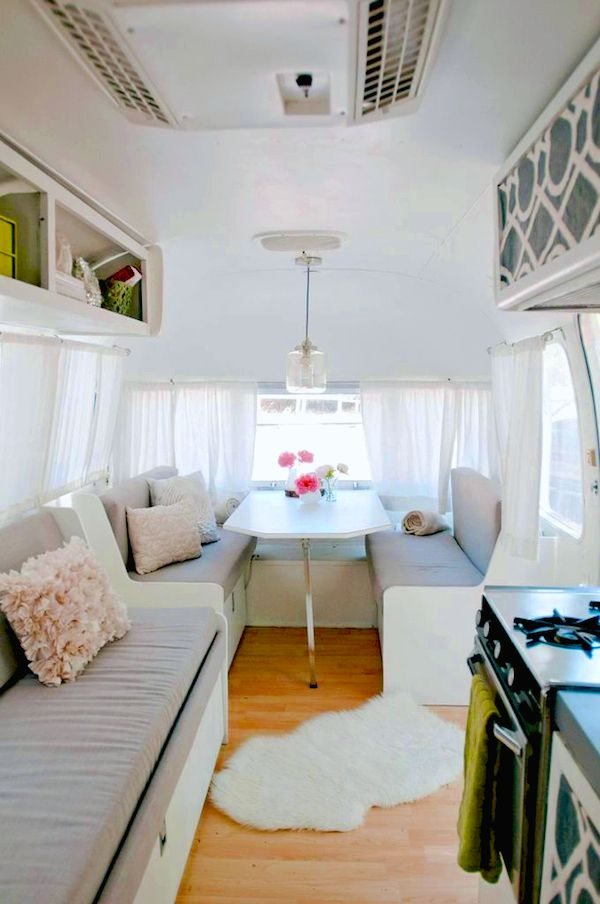 517 best images about trailers shabby chic style on for Airstream decor