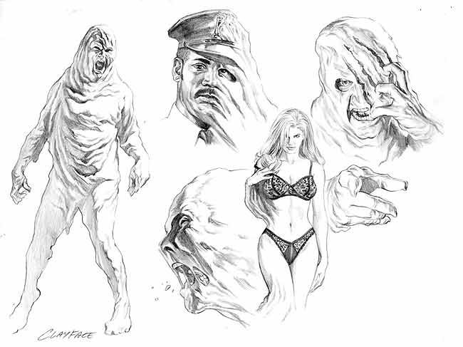 Clayface by Alex Ross.