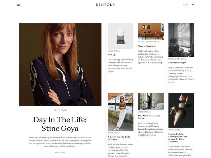 Kinfolk Website