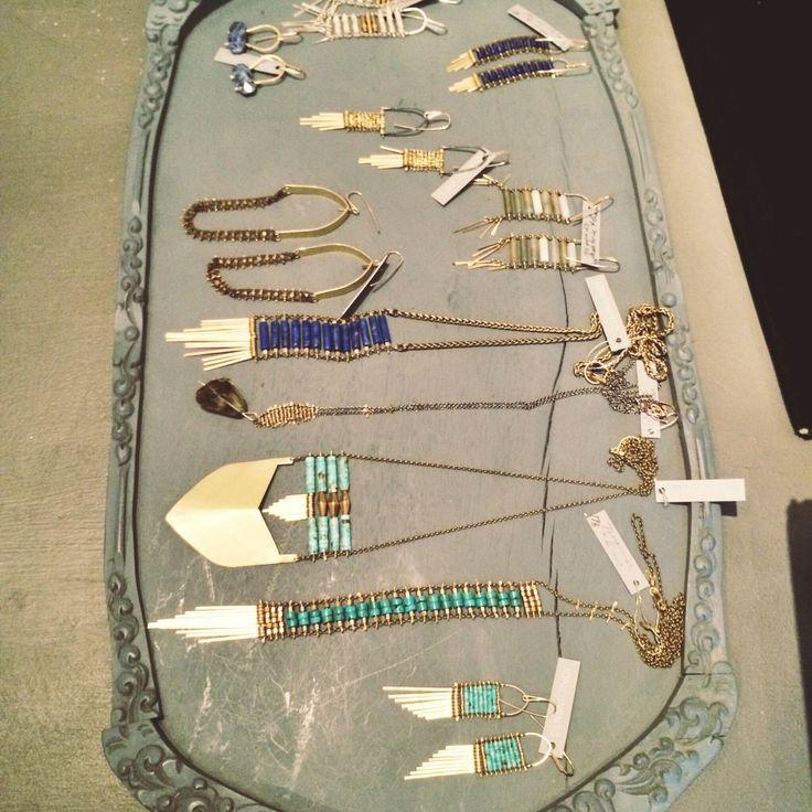 @demimondestudio pretties headed to the shop floor! http://betsyandiya.com/?p=13510 #demimondejewelry