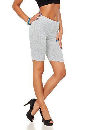 Genou Sur Fashion Leggings Short 12 Coton Actif Longueur Futuro fBRwYqw