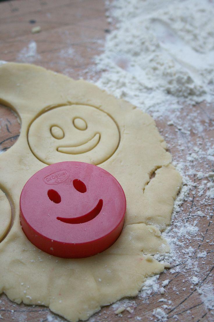 Sablés smilys au chocolat - Biscuits sourire