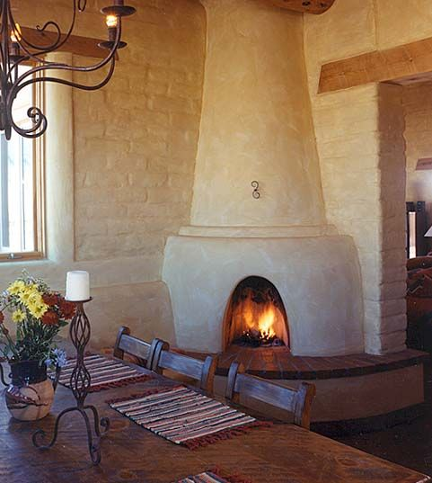 107 best images about southwest homes on pinterest santa for Kiva fireplaces