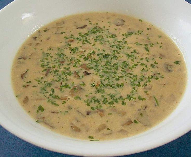 Rezept Champignoncremesuppe von Brutzelhexe - Rezept der Kategorie Suppen