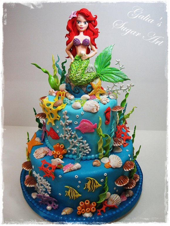 8 best Ariel cakes images on Pinterest Little mermaids Birthdays